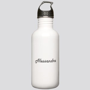 Alessandra Classic Ret Stainless Water Bottle 1.0L