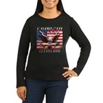 Cruising Clevelan Women's Long Sleeve Dark T-Shirt