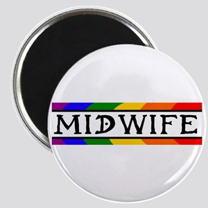 Rainbow Midwife Magnet