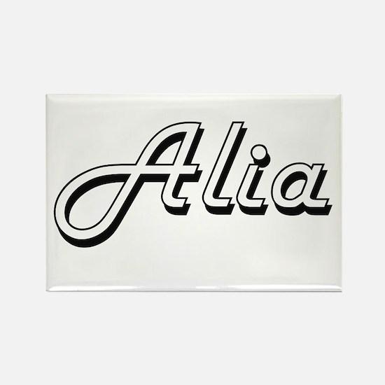 Alia Classic Retro Name Design Magnets