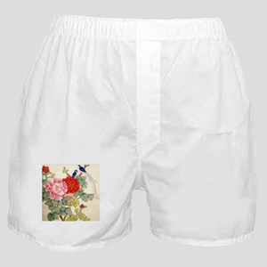 Chinese Water Color Painting Boxer Shorts