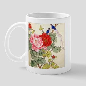 Chinese Water Color Painting Mug
