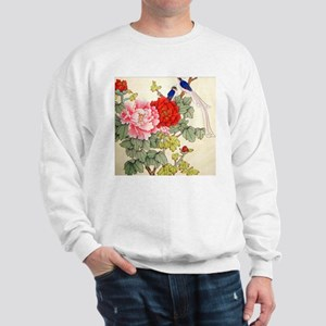 Chinese Water Color Painting Sweatshirt