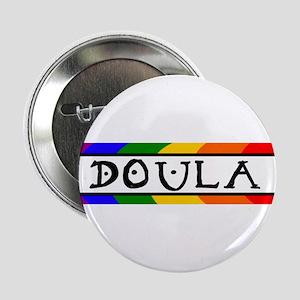 Doula Rainbow Button