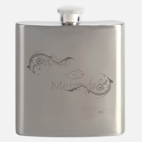 Cute Melanoma Flask