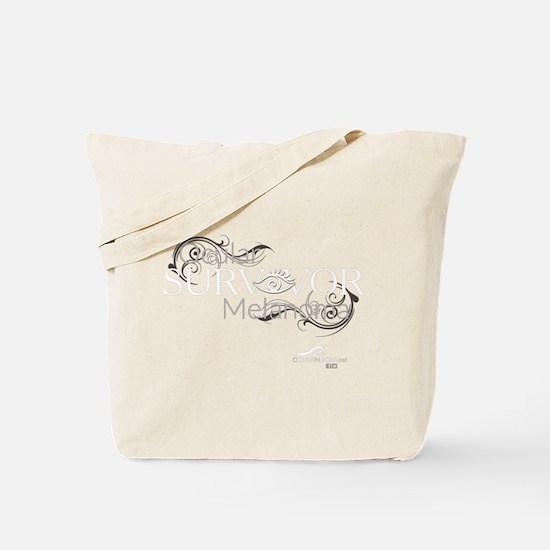 Cute Melanoma cure Tote Bag