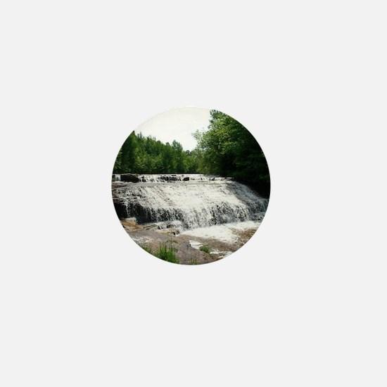 Gorgeous waterfall Mini Button