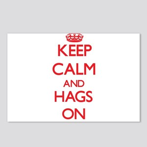 Keep Calm and Hags ON Postcards (Package of 8)