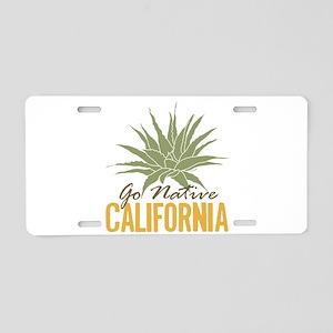 Go Native California Aluminum License Plate