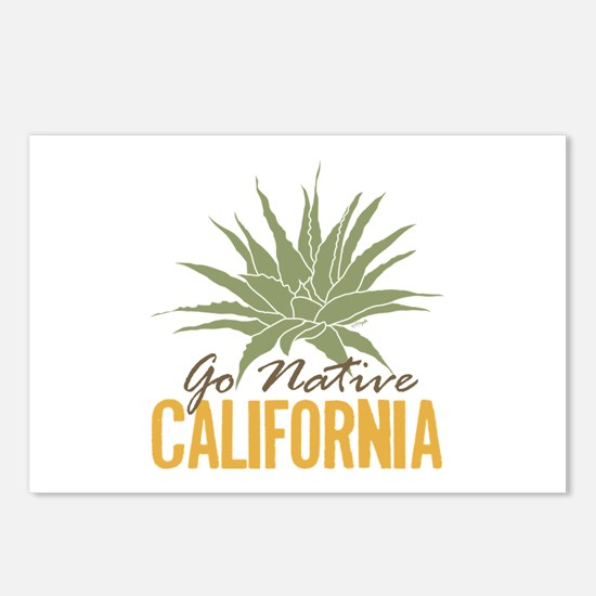 Go Native California Postcards (Package of 8)