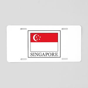 Singapore Aluminum License Plate