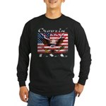 Cruising USA Long Sleeve Dark T-Shirt
