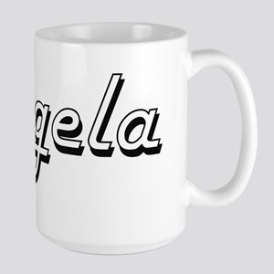 Angela Classic Retro Name Design Mugs