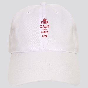 Keep Calm and Ham ON Cap