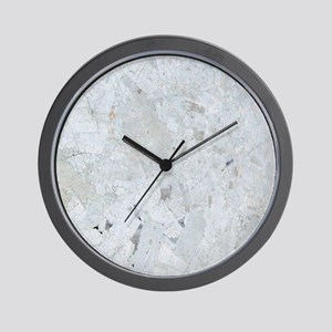 Shattered Mica Glass Wall Clock