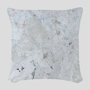 Shattered Mica Glass Woven Throw Pillow