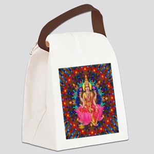 Daily Focus Mandala 4.2.15 Lakshm Canvas Lunch Bag