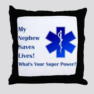 MY NEPHEW Throw Pillow