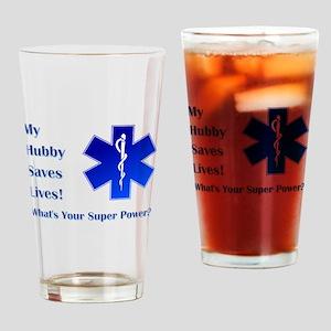 MY HUBBY Drinking Glass