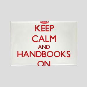 Keep Calm and Handbooks ON Magnets