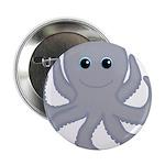 Octopus Gray Cartoon 2.25