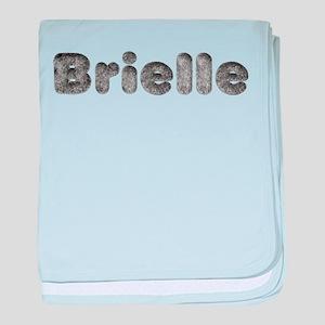 Brielle Wolf baby blanket
