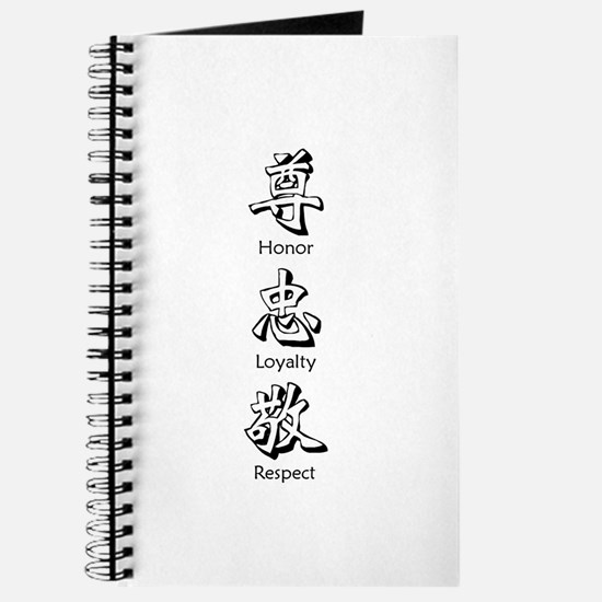 Honor in Chinese - Journal