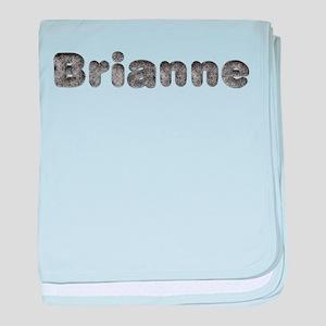 Brianne Wolf baby blanket