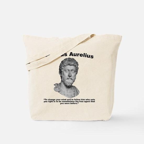 Aurelius: Free Will Tote Bag