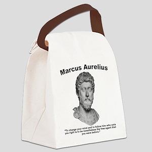 Aurelius: Free Will Canvas Lunch Bag