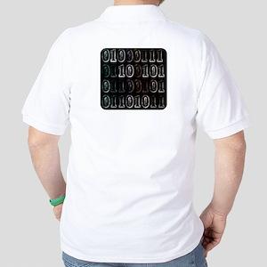 Binary Code Geek Golf Shirt