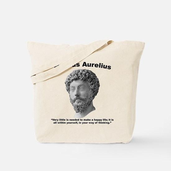 Aurelius: Happy Tote Bag