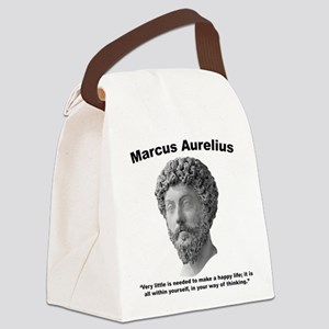 Aurelius: Happy Canvas Lunch Bag
