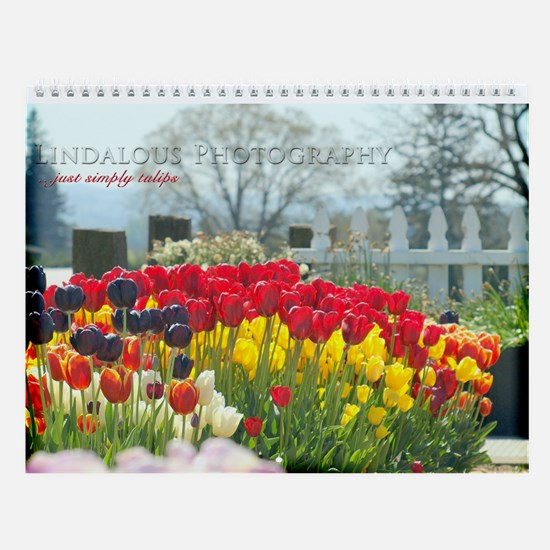 Simply Tulips Wall Calendar