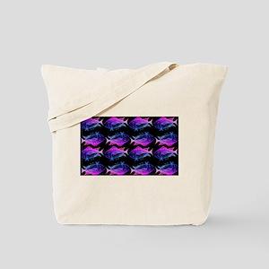 retro tuna pattern 4 Tote Bag