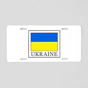 Ukraine Aluminum License Plate