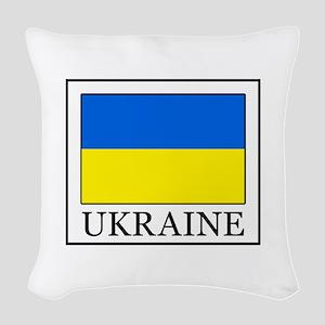 Ukraine Woven Throw Pillow