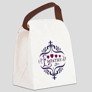Empathy Canvas Lunch Bag