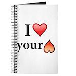 I Love Your Butt Journal