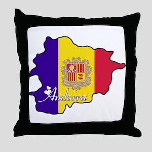 Cool Andorra Throw Pillow