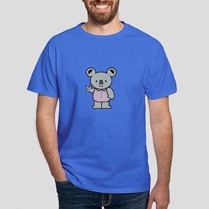 Koala with an ASL message Dark T-Shirt