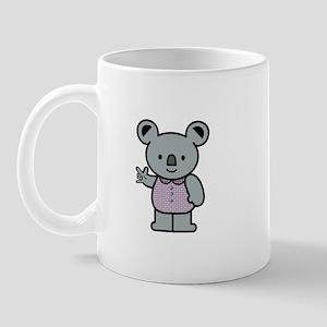 Koala with an ASL message Mug
