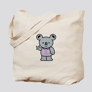 Koala with an ASL message Tote Bag