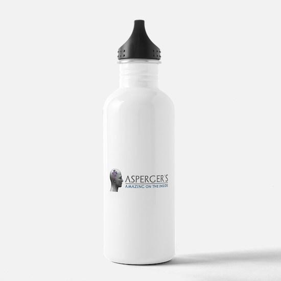 Asperger's Amazing Head Water Bottle