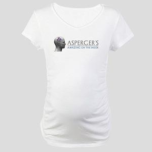 Asperger's Amazing Head Maternity T-Shirt
