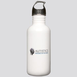 Autistics Amazing Head Water Bottle