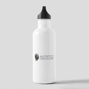 Autistics Amazing Head Water Bottle