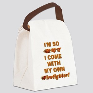 IM SO HOT! Canvas Lunch Bag