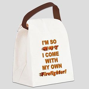 IM SO HOT! Canvas Lunch Bag