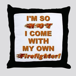 IM SO HOT! Throw Pillow